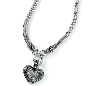 """Lia Sophia. Love Dust 17-20"""" Adjustable Necklace"""
